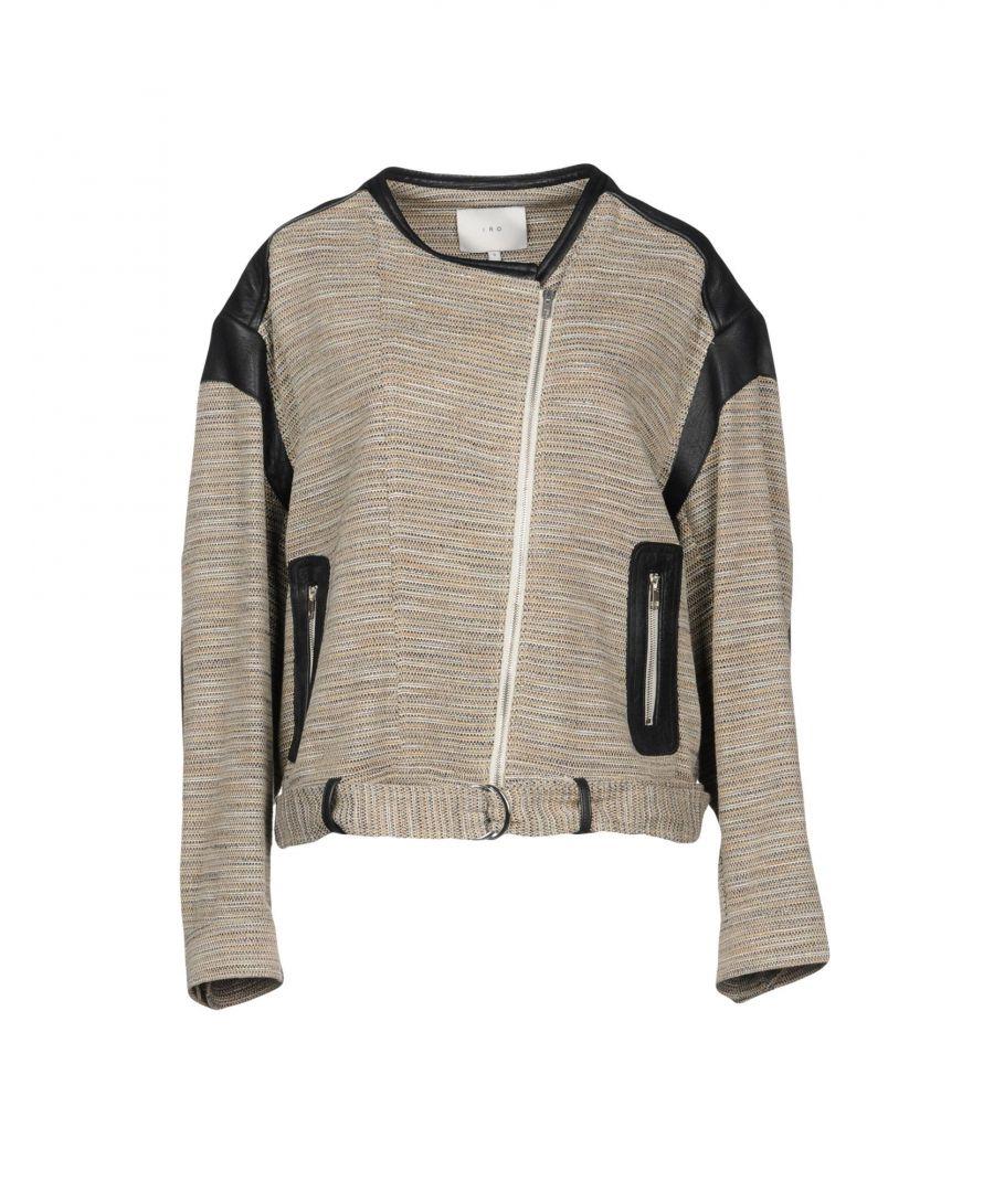 Image for Iro Beige Cotton Tweed Jacket