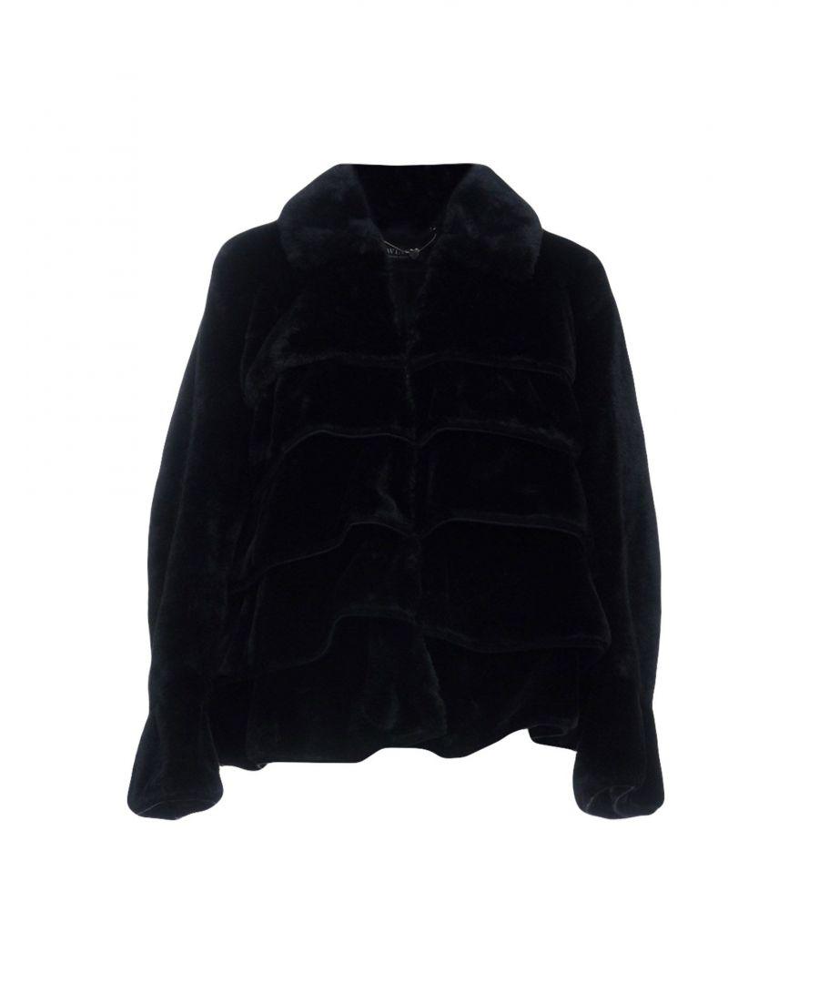 Image for Twinset Black Faux Fur Jacket
