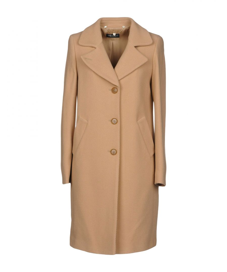 Image for Twinset Sand Wool Coat