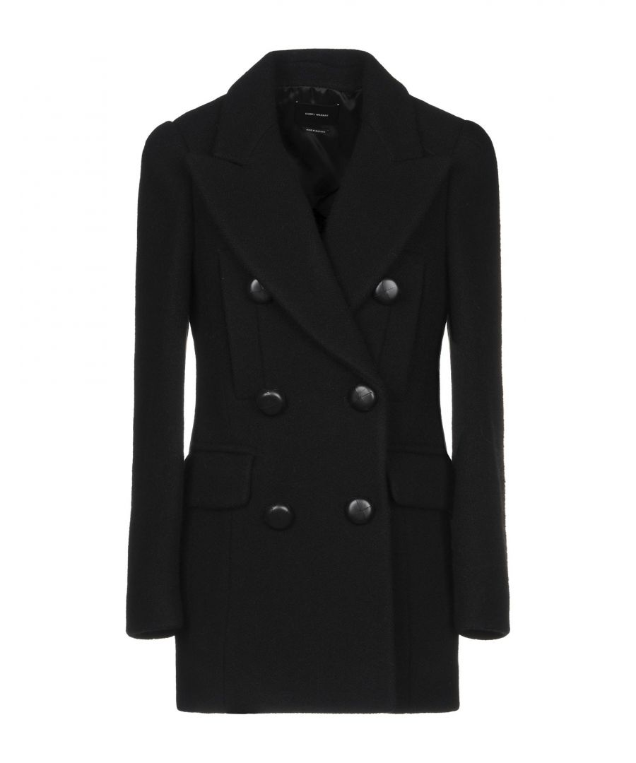Image for Isabel Marant Black Virgin Wool Double Breasted Jacket