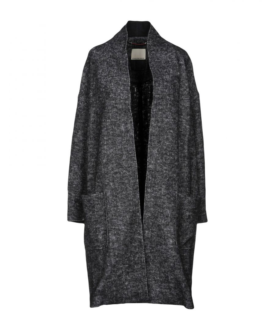Image for By Malene Birger Steel Grey Wool Coat