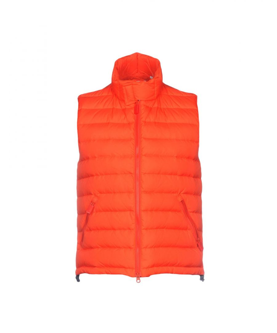 Image for Aspesi Red Techno Fabric Padded Gilet