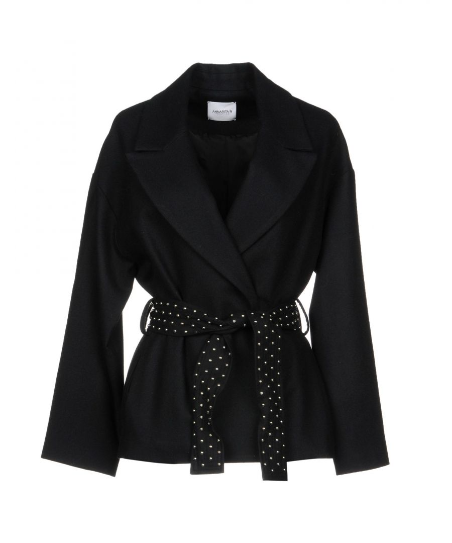 Image for Annarita N Twenty 4H Black Wool Belted Jacket