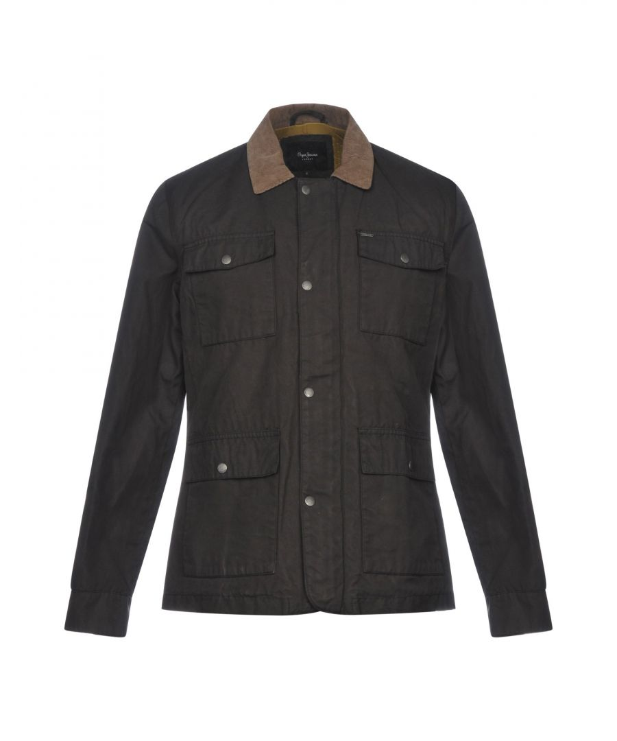 Image for COATS & JACKETS Man Pepe Jeans Dark brown Nylon