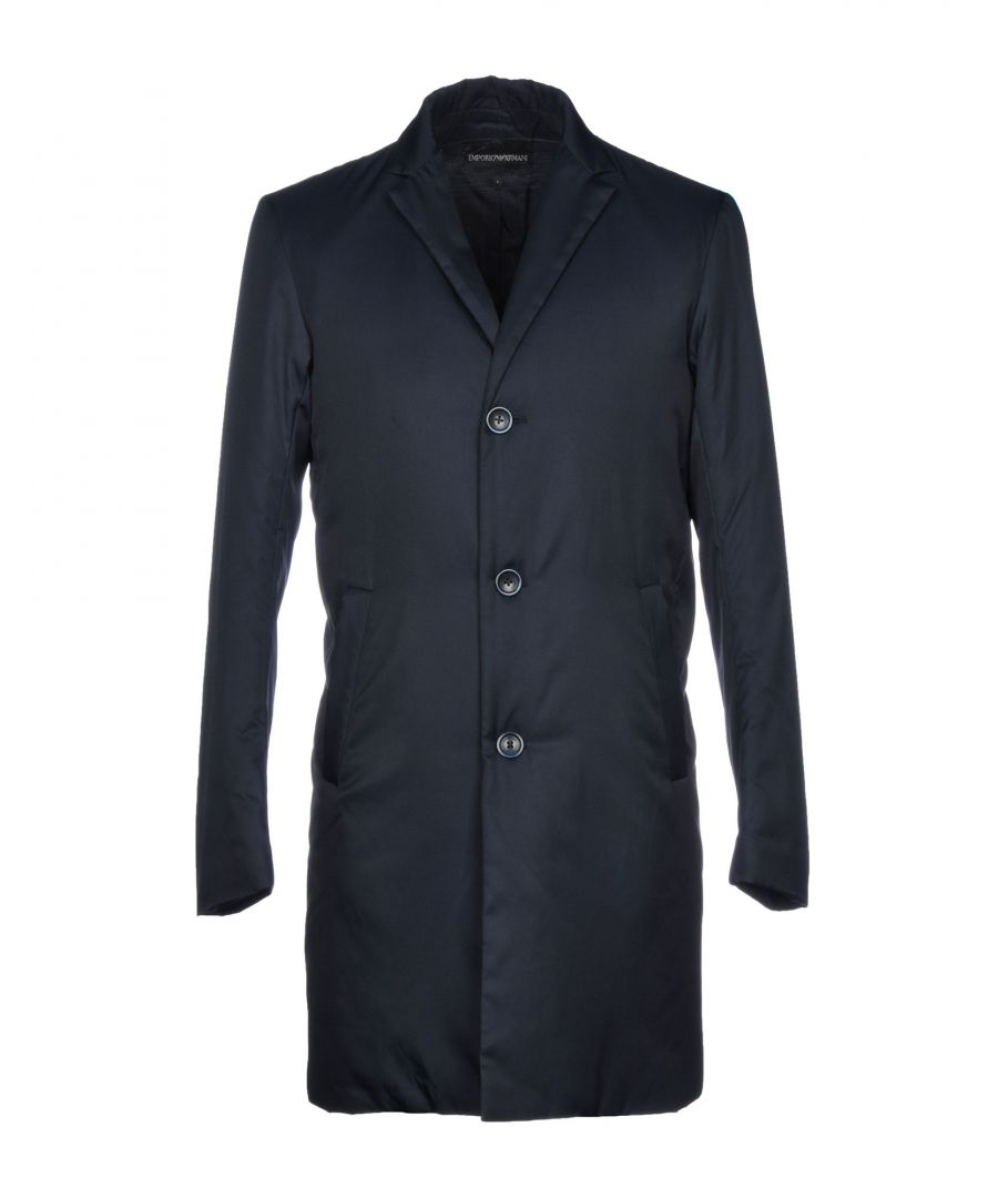 Image for Emporio Armani Dark Blue Coat