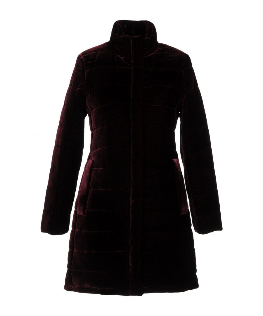 Image for Aspesi Deep Purple Velvet Coat