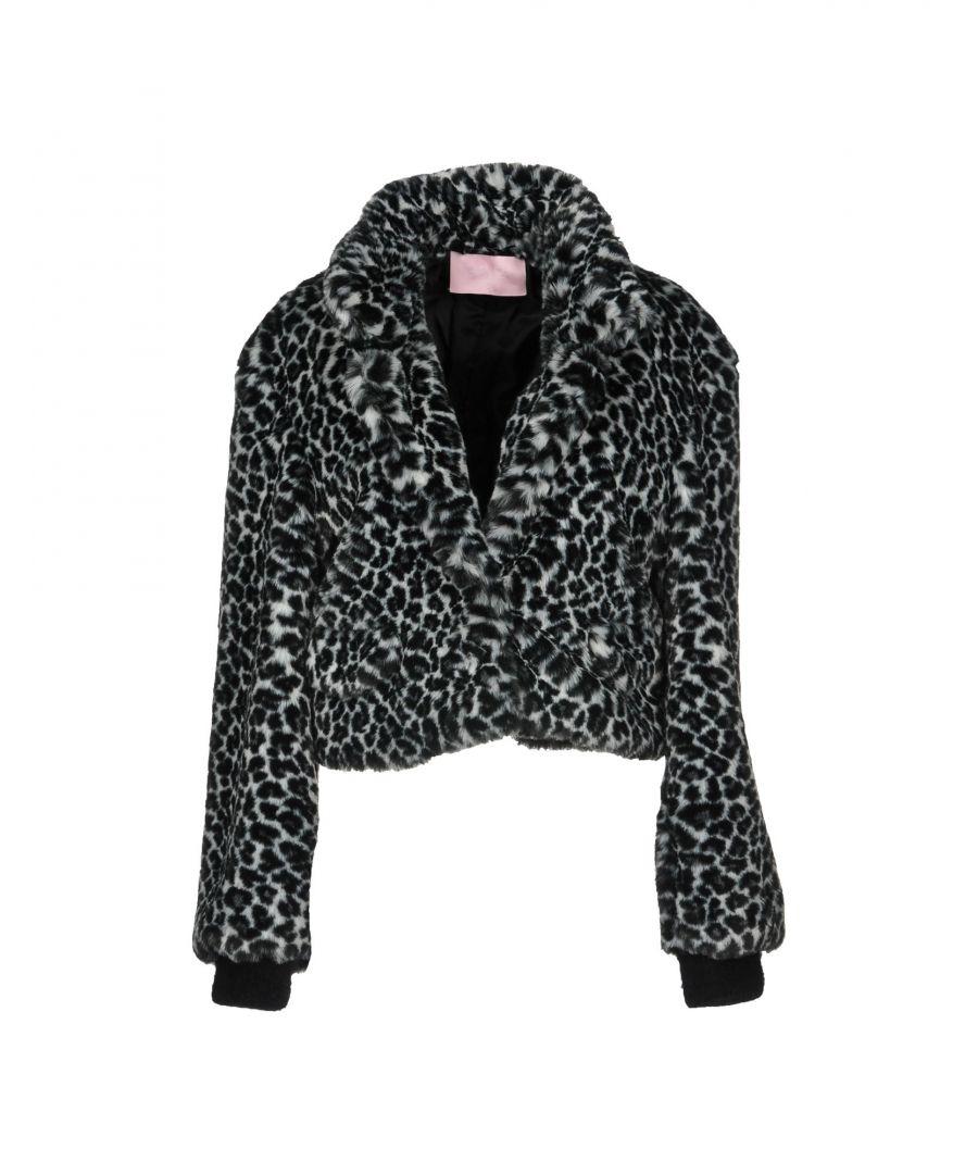 Image for Giamba Black Faux Fur Jacket