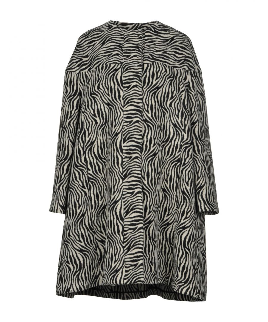 Image for L' Autre Chose Light Grey Pattern Coat