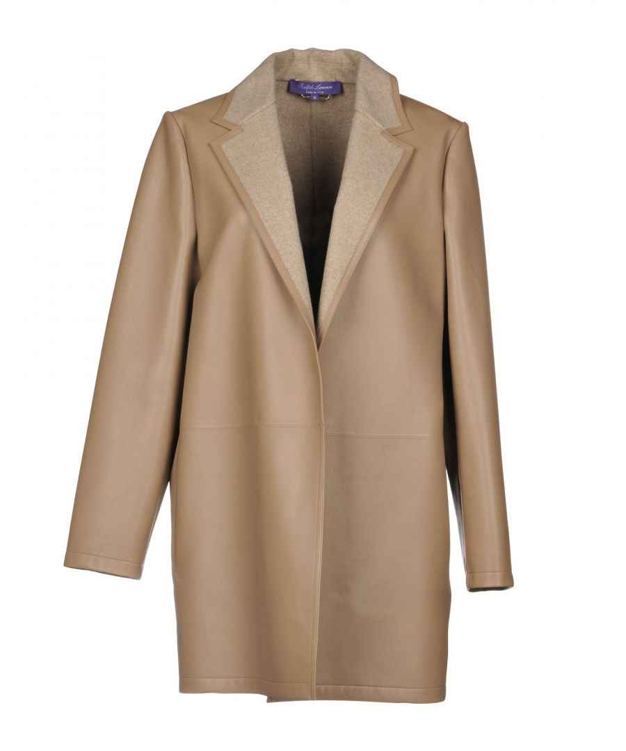 Image for Ralph Lauren Collection Dove Grey Lambskin Overcoat