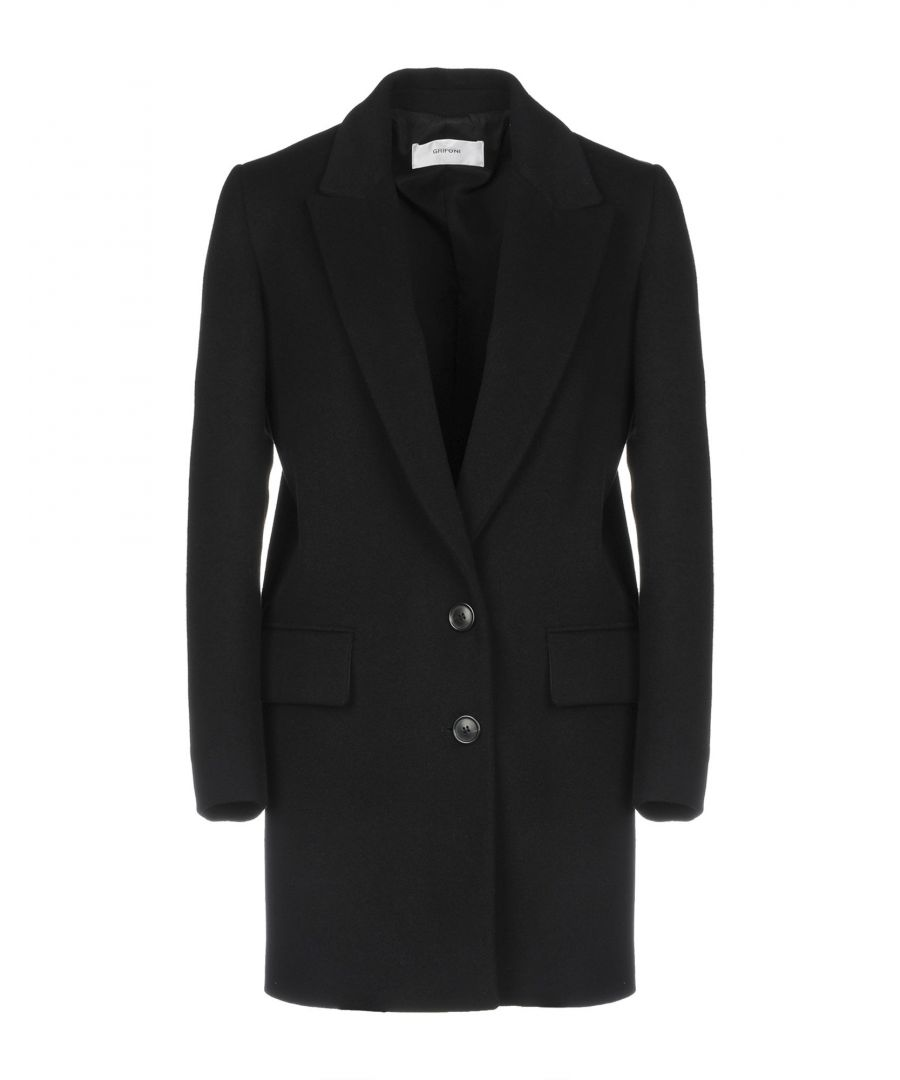 Image for Mauro Grifoni Black Wool Single Breasted Jacket