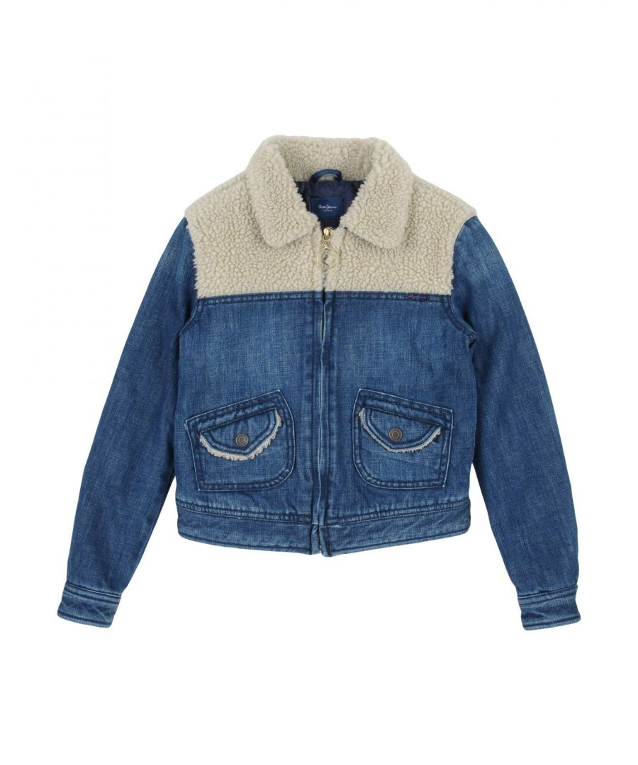Image for COATS & JACKETS Girl Pepe Jeans Blue Cotton