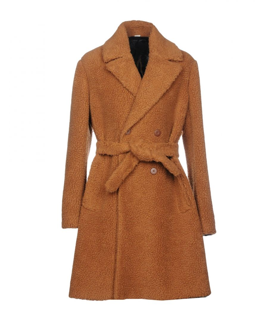 Image for Stella McCartney Men Camel Belted Overcoat