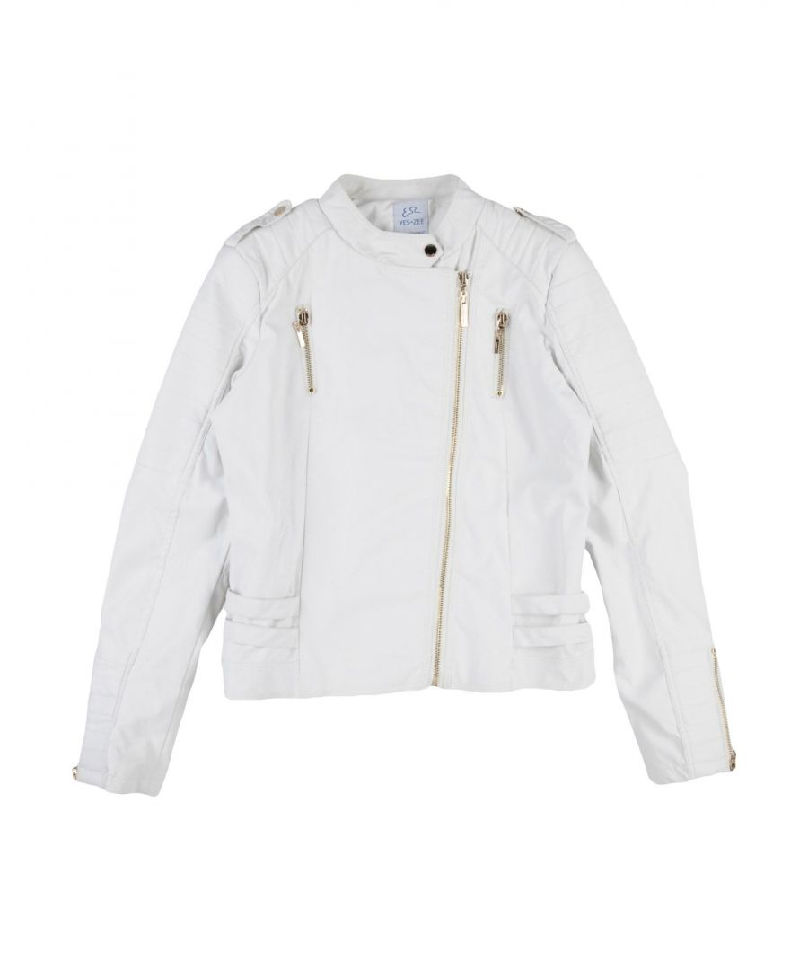 Image for COATS & JACKETS Yes Zee By Essenza White Girl Polyurethane