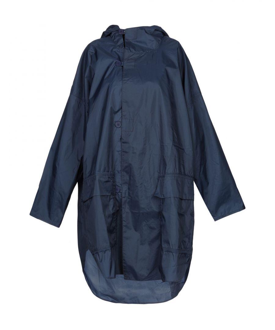Image for Aspesi Dark Blue Techno Fabric Raincoat