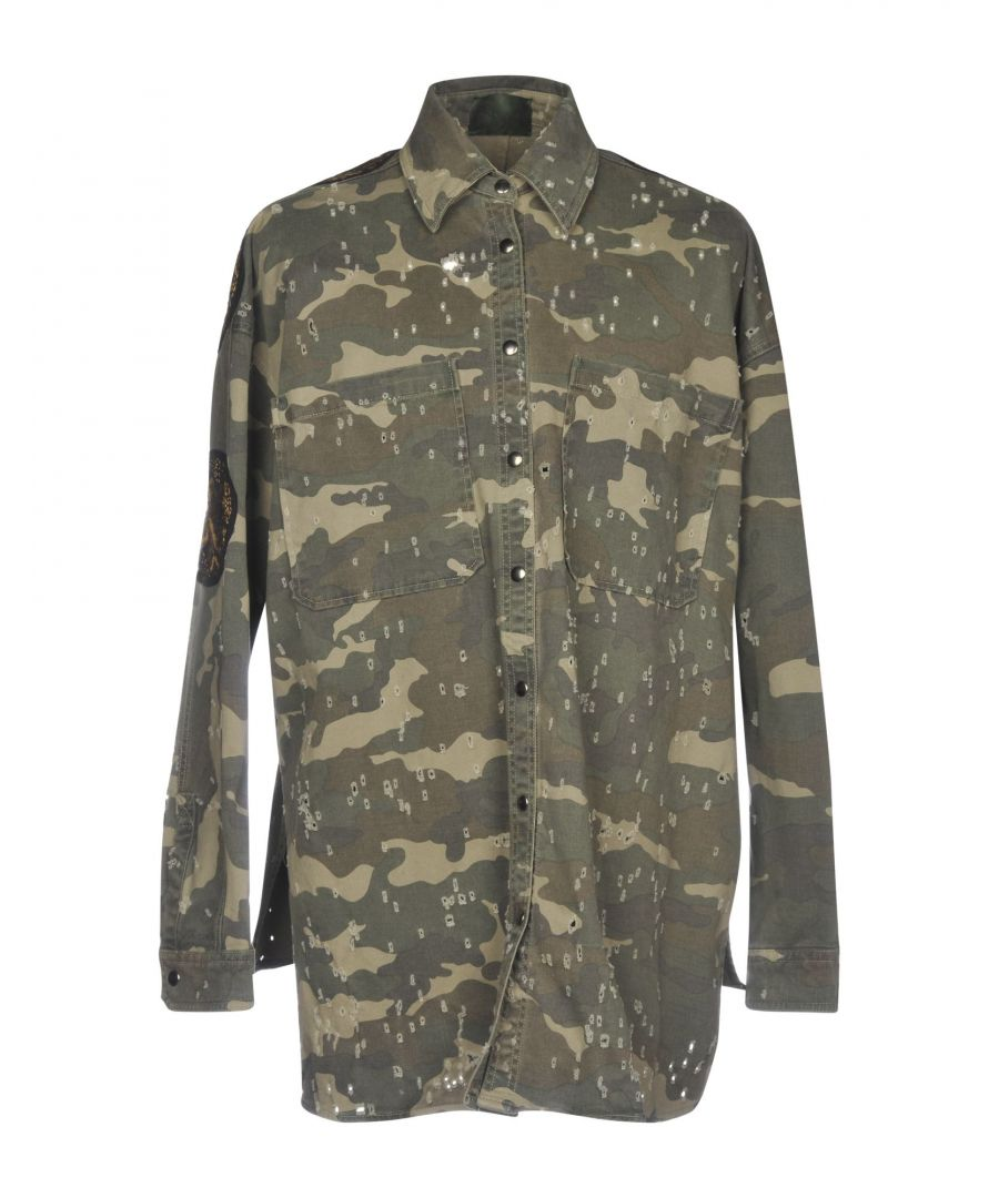 Image for .Amen. Military Green Cotton Jacket