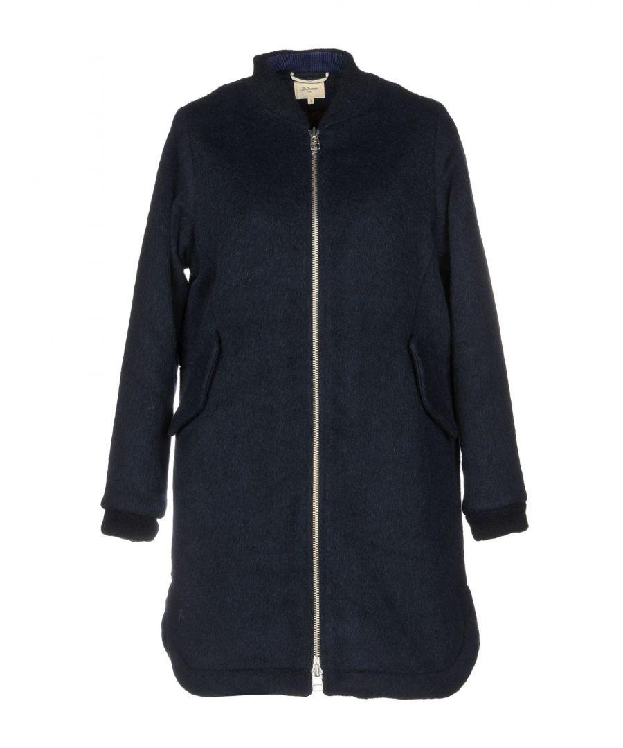 Image for Bellerose Dark Blue Wool Coat