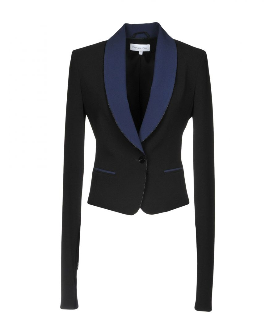 Image for Patrizia Pepe Black Single Breasted Blazer