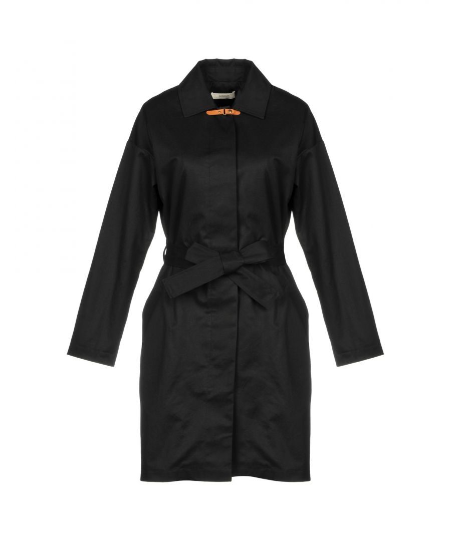 Image for Sessun Black Cotton Twill Belted Jacket