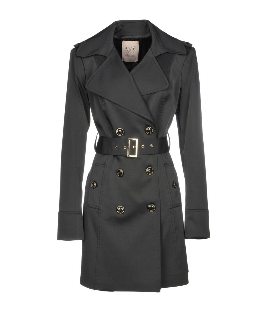 Image for Betty Blue Black Belted Trenchcoat