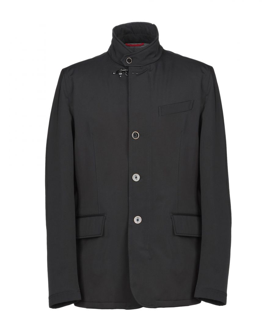 Image for Fay Black Techno Fabric Jacket