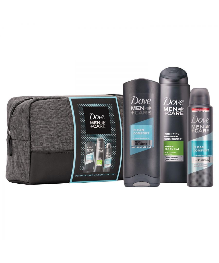 Image for Dove Men Ultimate Care Trio Washbag Gift Set