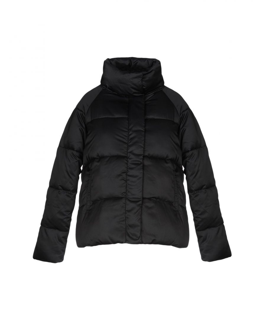 Image for Kaos Jeans Black Techno Fabric Padded Jacket