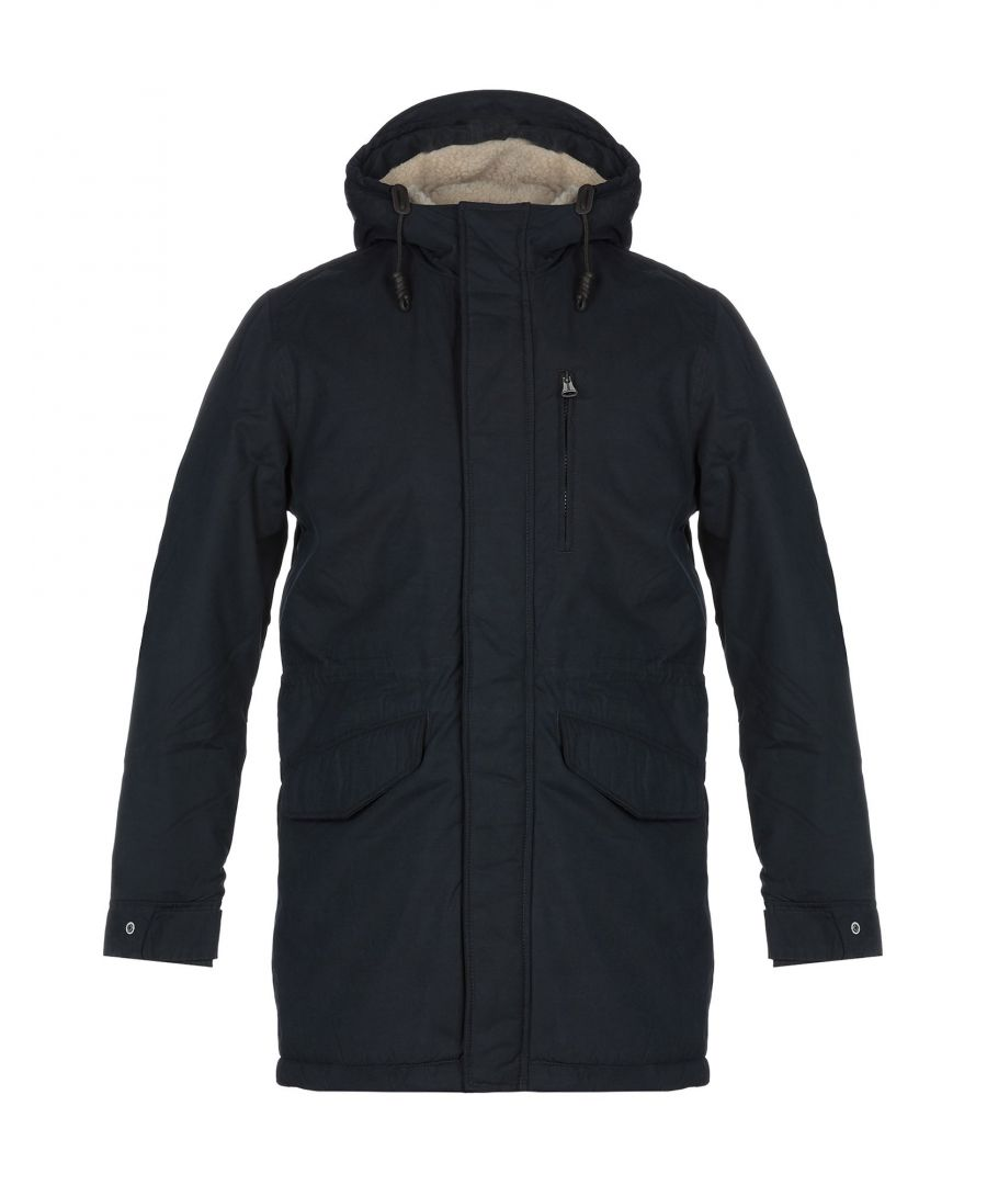 Image for Jack & Jones Dark Blue Techno Fabric Coat