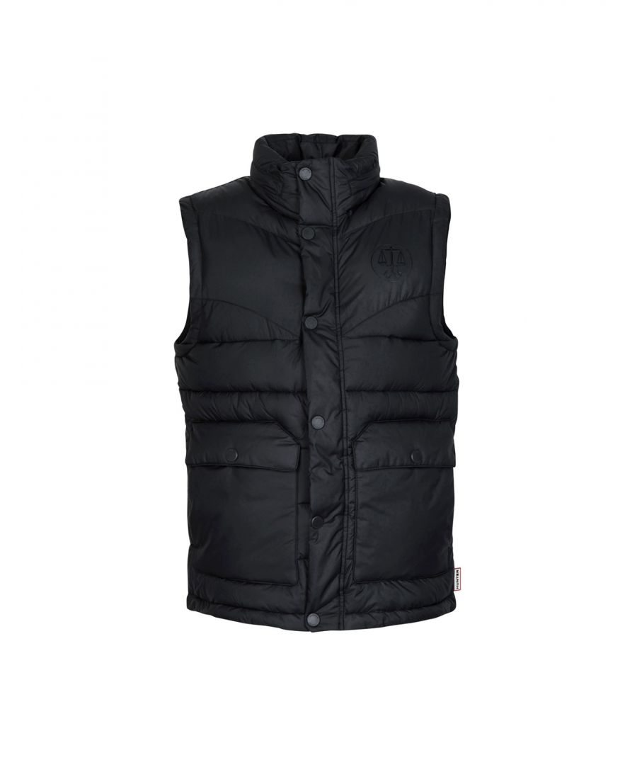 Image for Hunter Black Techno Fabric Gilet