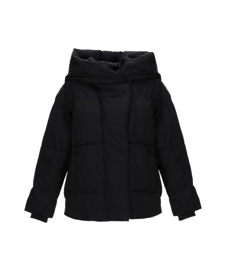 Image for Noisy May Black Techno Fabric Padded Jacket