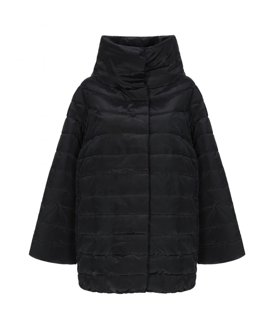 Image for Guess Black Techno Fabric Padded Jacket