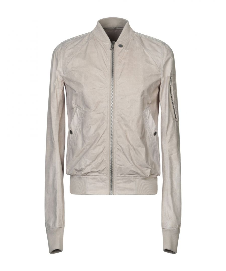 Image for Rick Owens Dove Grey Bomber Jacket