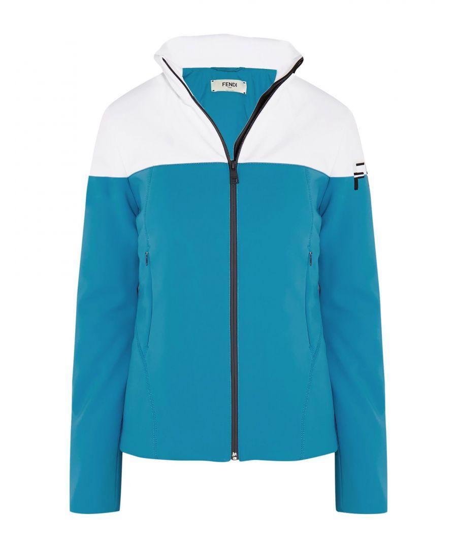 Image for Fendi Azure Colourblock Jacket
