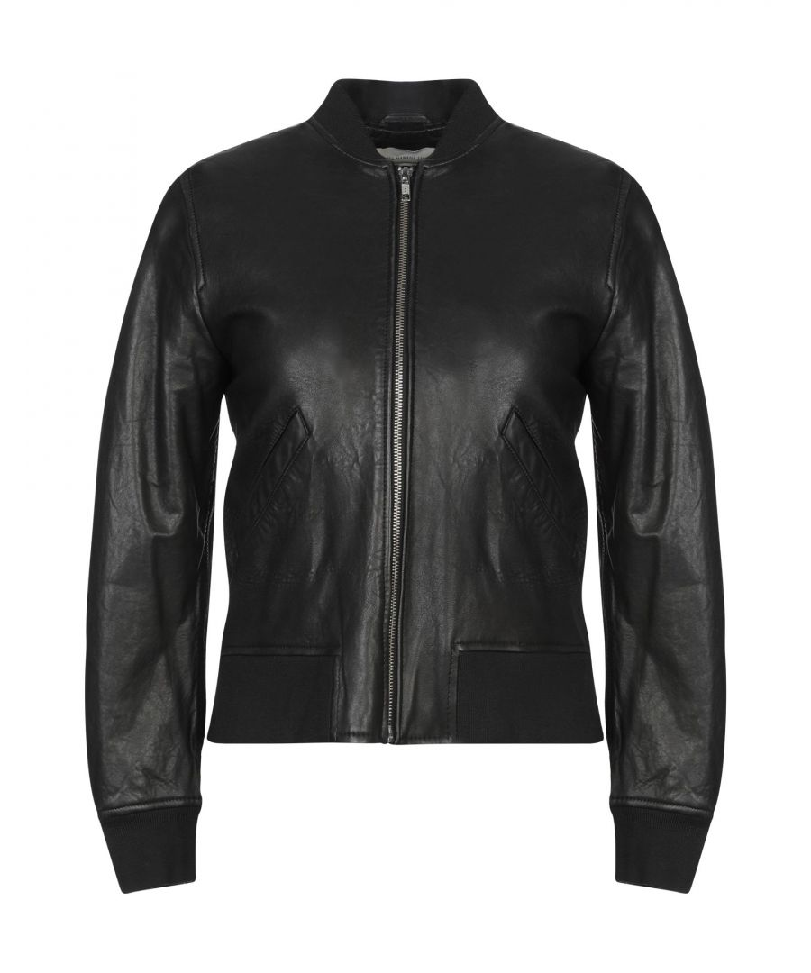 Image for Isabel Marant Etoile Steel Grey Lambskin Leather Jacket