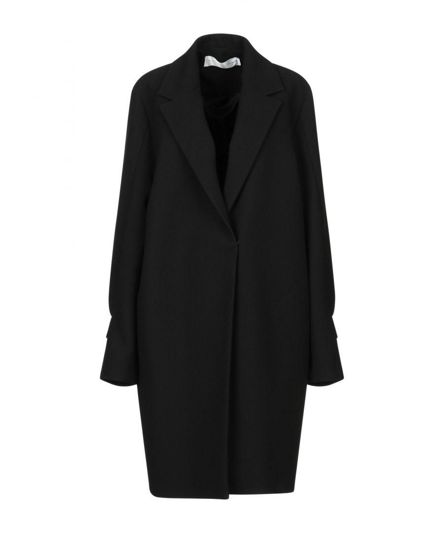Image for Victoria, Victoria Beckham Black Wool Overcoat
