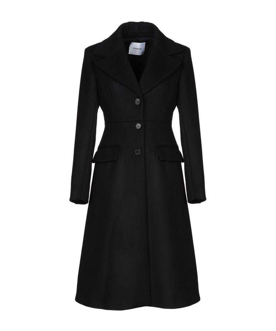 Image for Dondup Black Virgin Wool Coat