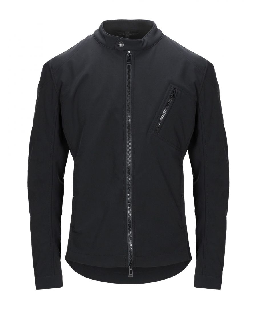 Image for Belstaff Black Techno Fabric Jacket