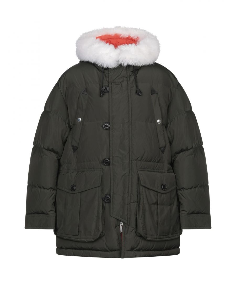 Image for Dsquared2 Military Green Padded Coat