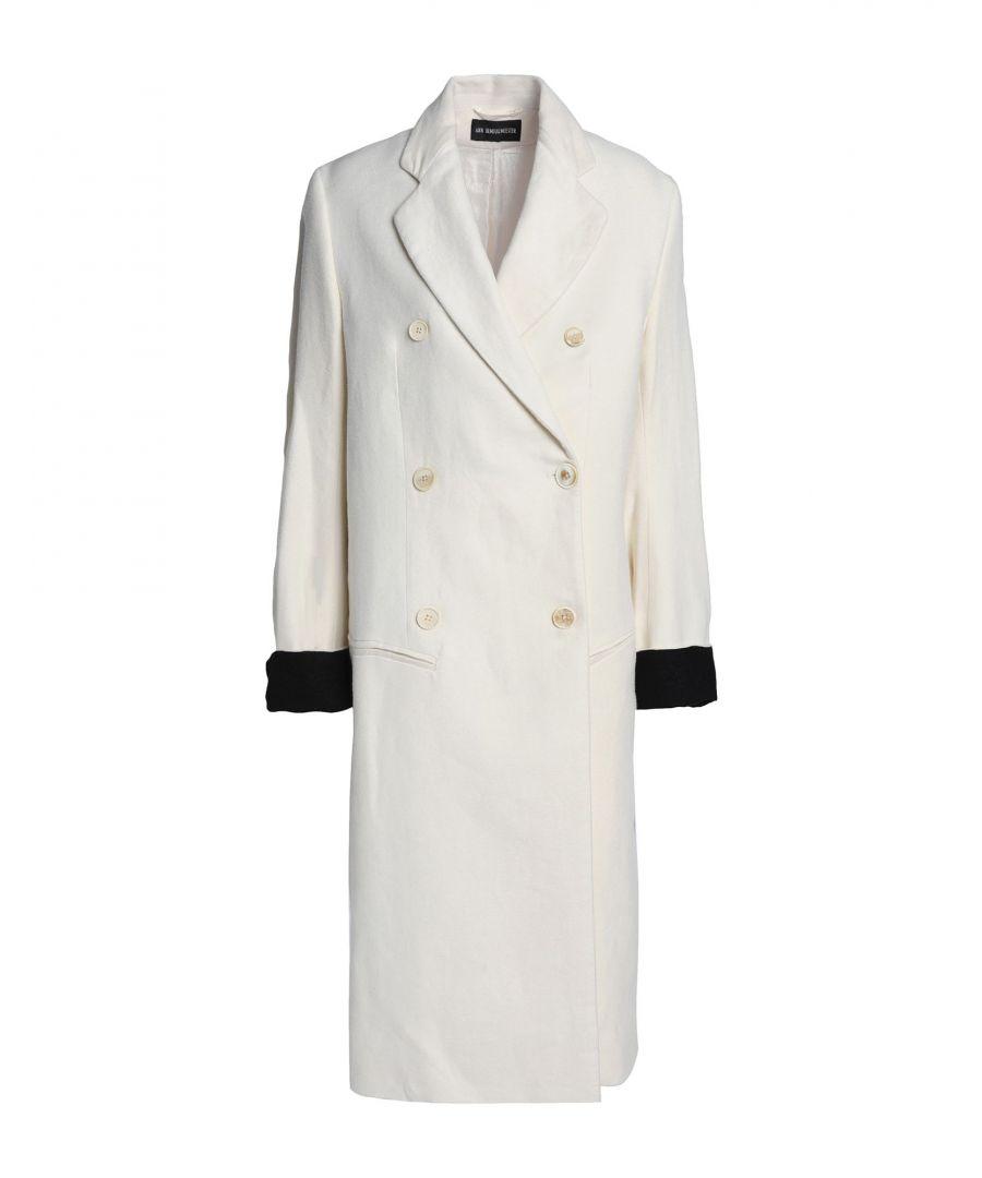 Image for Ann Demeulemeester Ivory Linen Coat