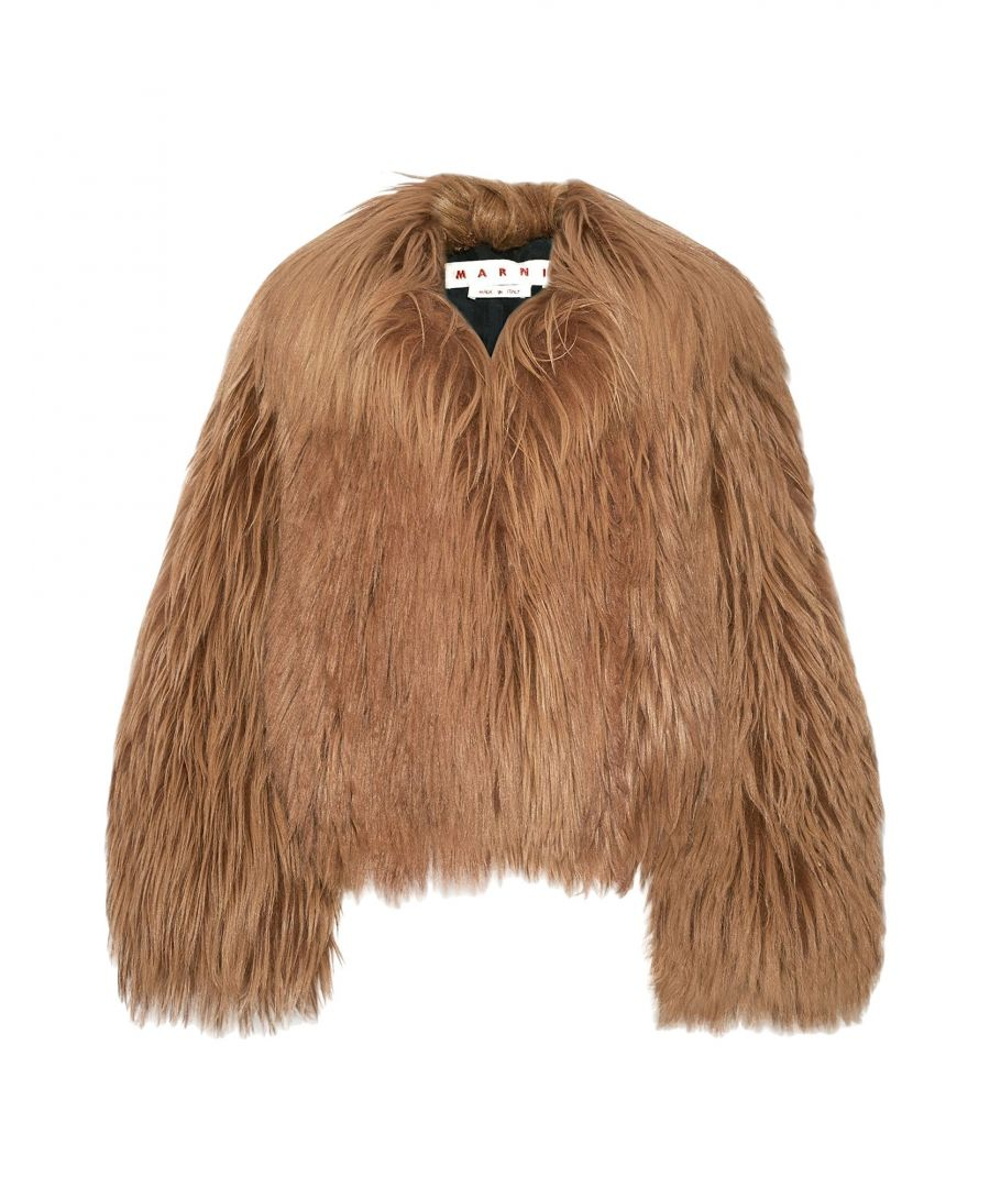 Image for COATS & JACKETS Marni Brown Woman Pelo di capra