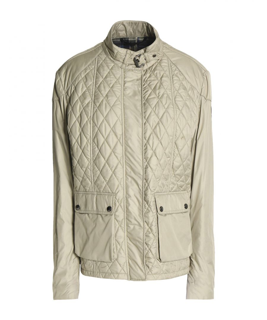 Image for Belstaff Beige Qulited Jacket