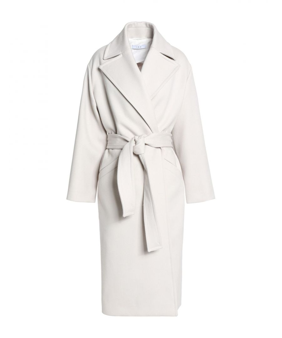 Image for Iro Light Grey Virgin Wool Coat