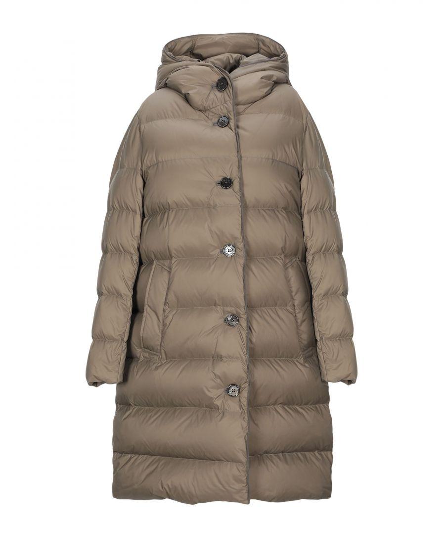 Image for Mackintosh Khaki Techno Fabric Quilted Coat