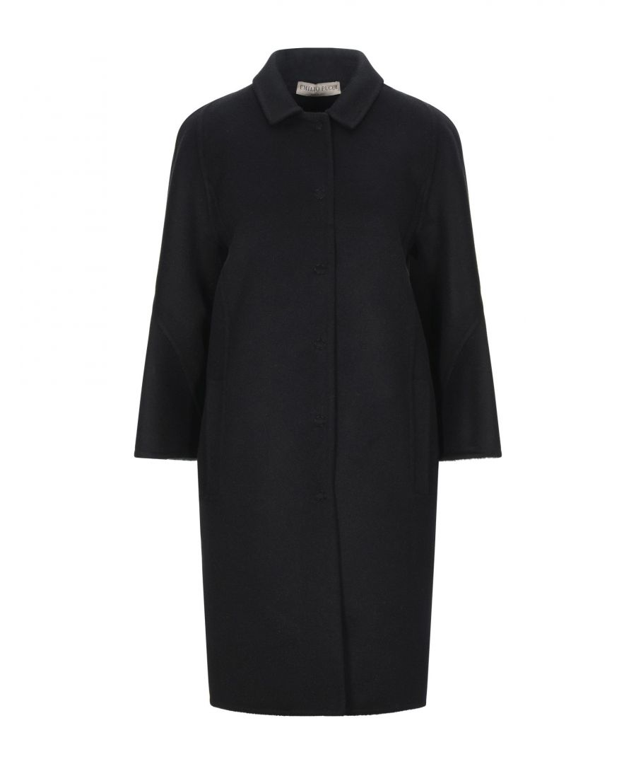 Image for Emilio Pucci Black Wool Overcoat