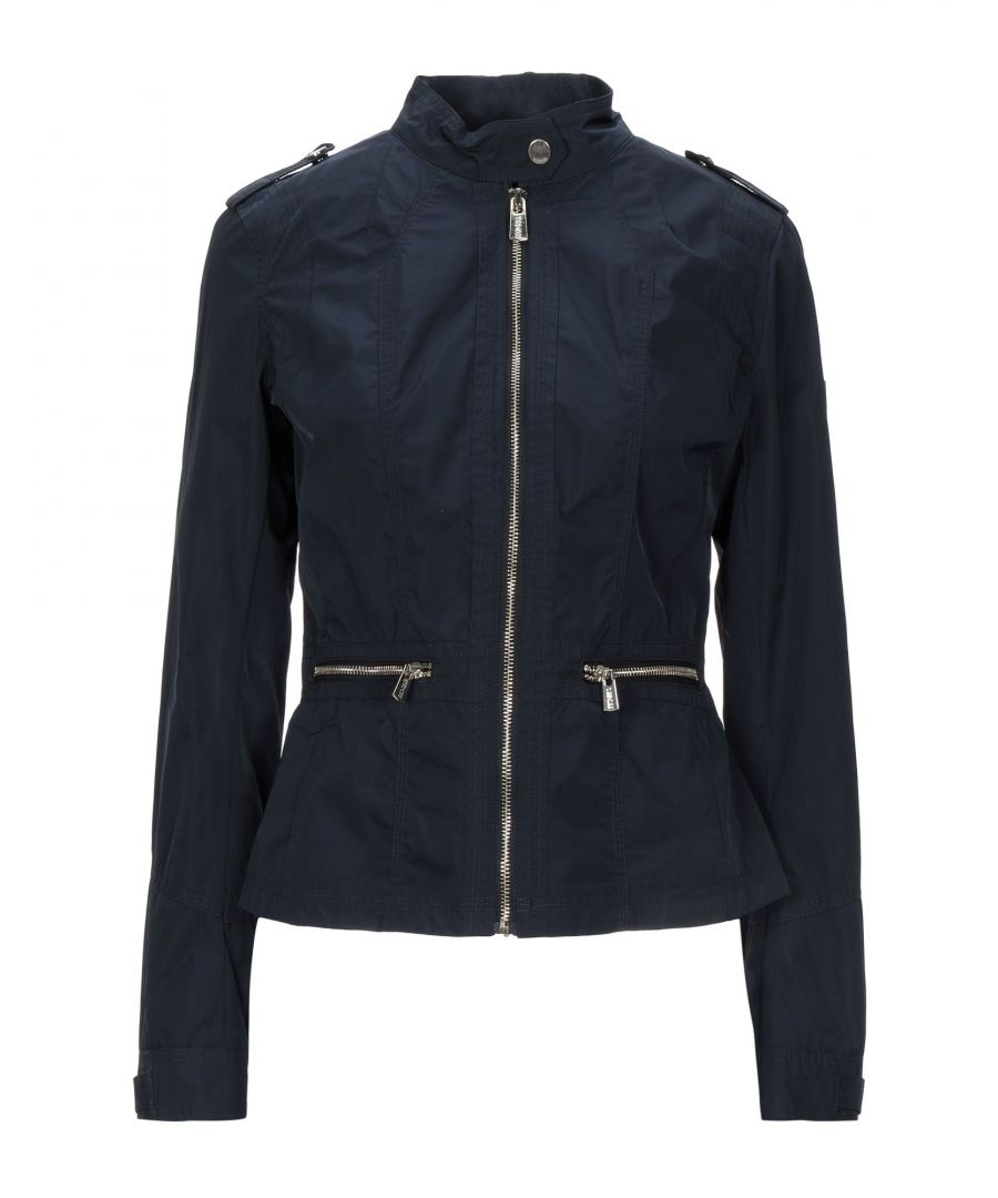 Image for Yes Zee By Essenza Women's Jackets Dark Blue Polyester
