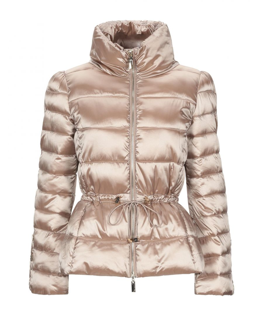 Image for Nenette Beige Quilted Padded Jacket