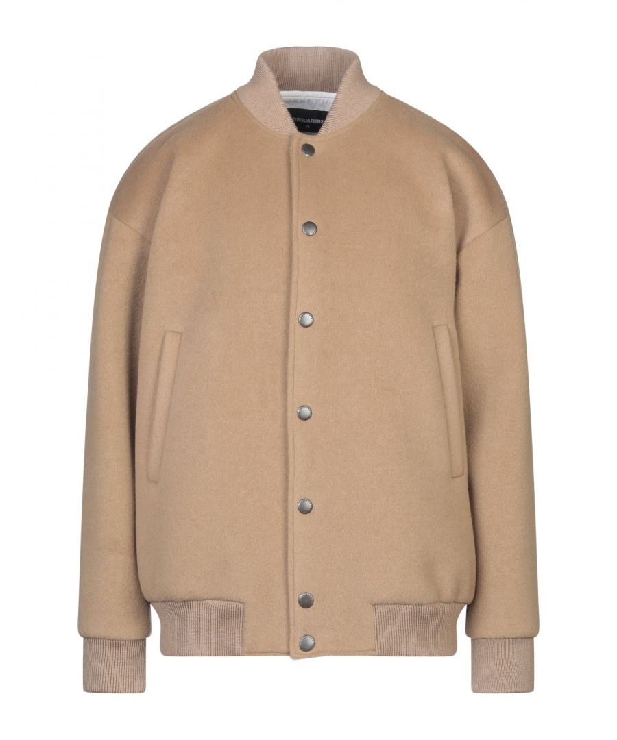 Image for Dsquared2 Camel Virgin Wool Jacket