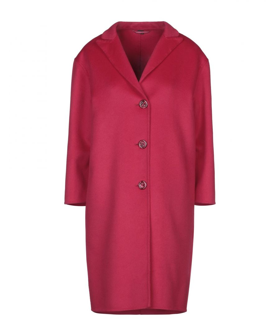 Image for Gucci Garnet Wool Overcoat