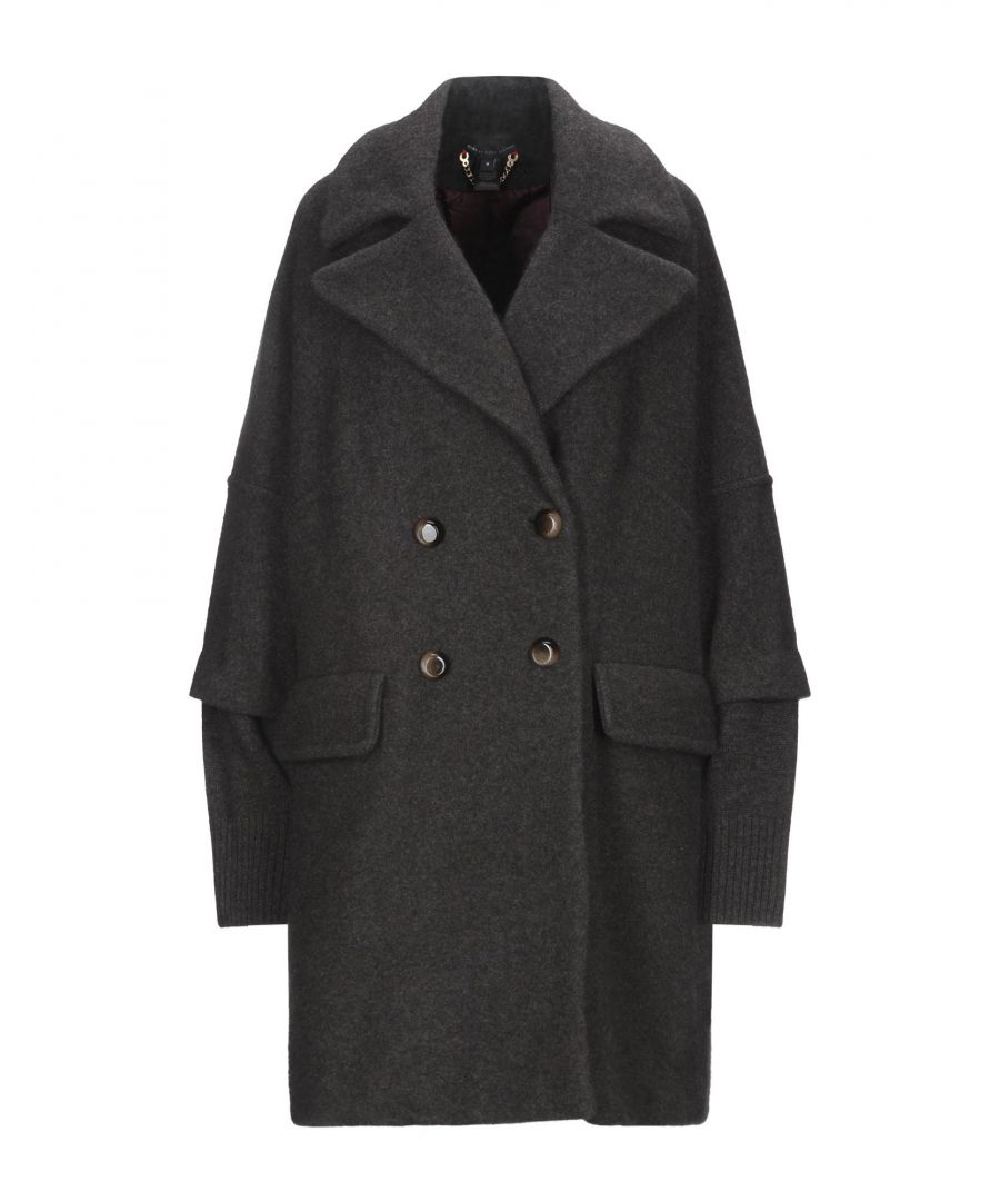 Image for Marc By Marc Jacobs Lead Wool Double Breasted Overcoat