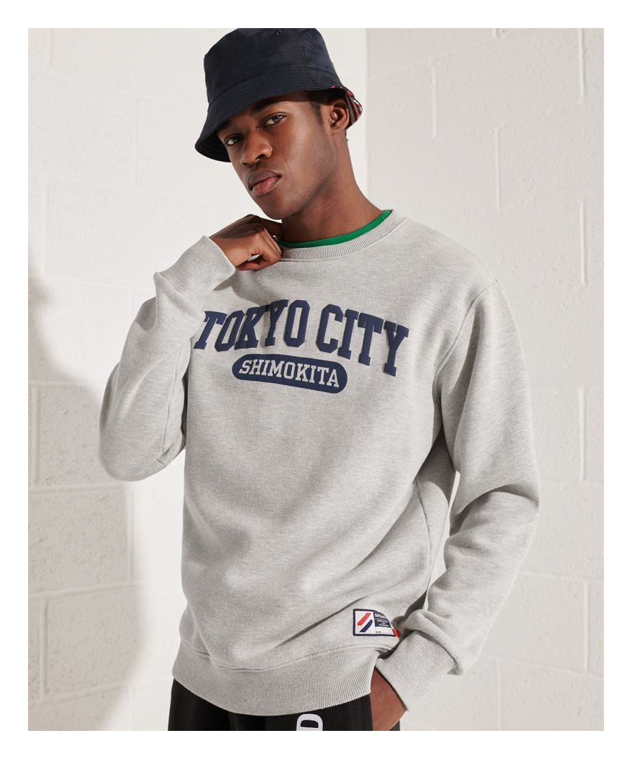 Image for Superdry City College Oversized Sweatshirt