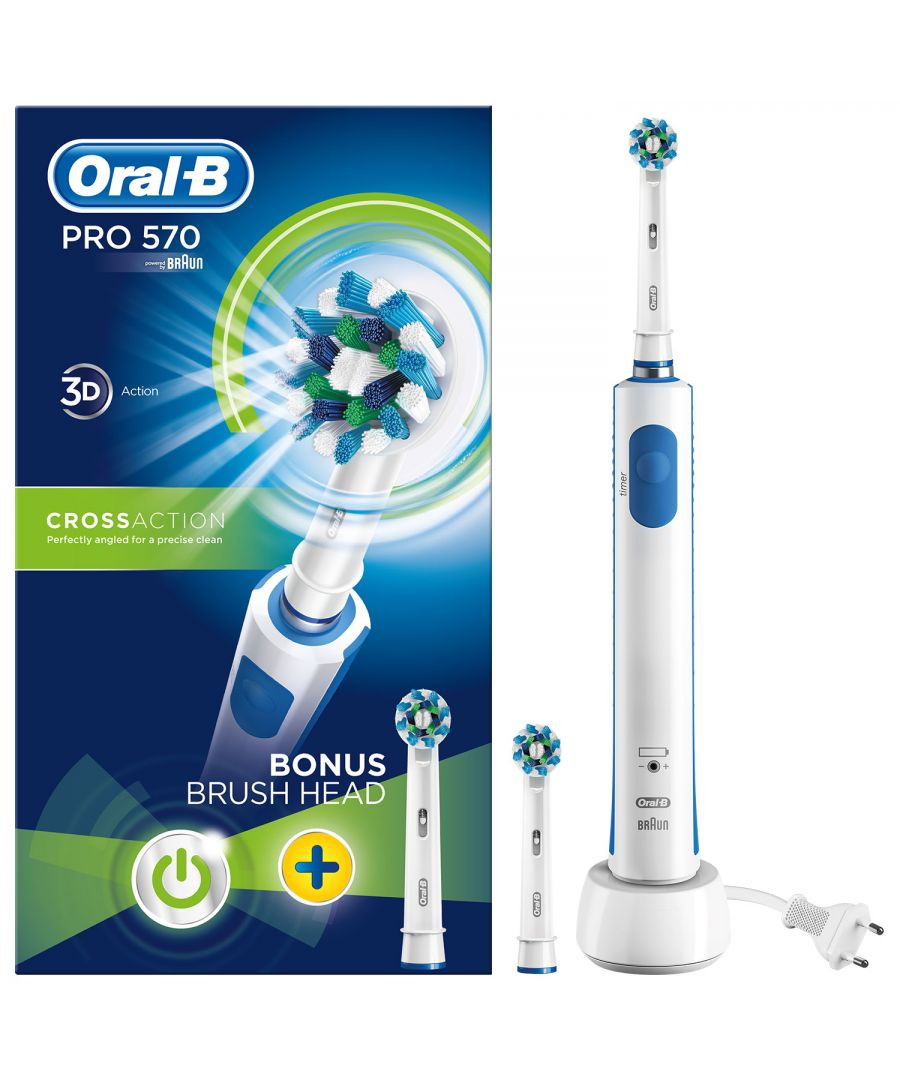 Image for Oral B Pro 570 Cross Action Limited Edition Brush and Refill